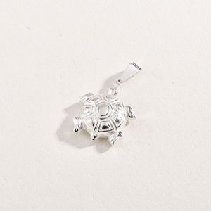 Sterling 925 Turtle Pendant